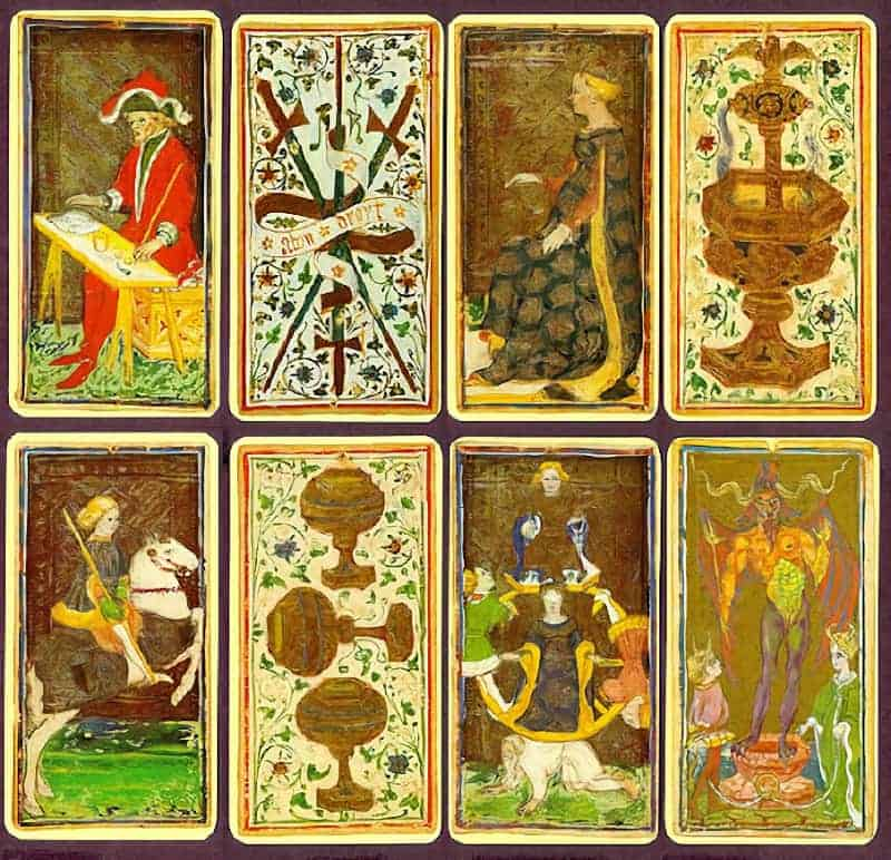 oldest tarot cards history