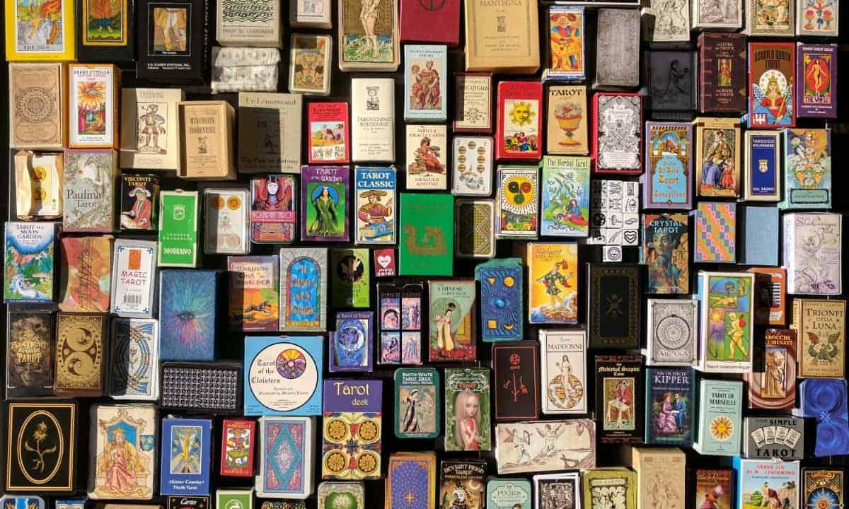 tarot decks collection spark of joy
