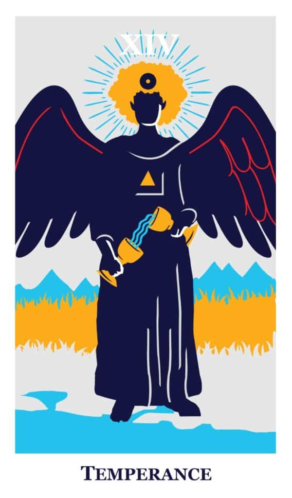 temperance tarot the modern way deck