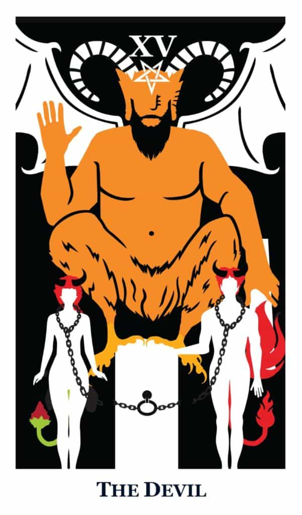 the devil tarot the modern way deck