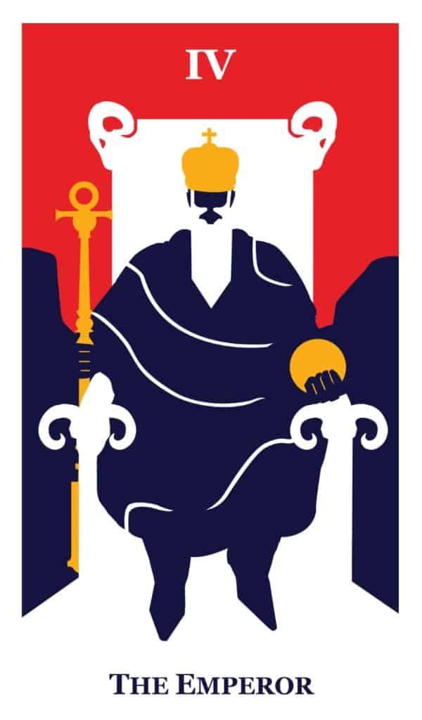 the emperor tarot the modern way tarot deck