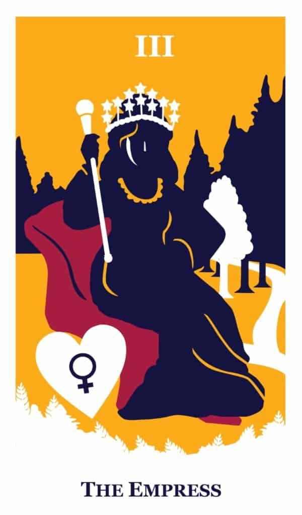 the empress tarot the modern way tarot deck