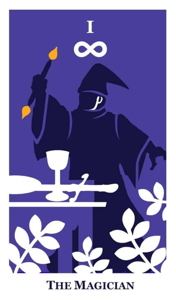 the magician tarot modern way tarot deck