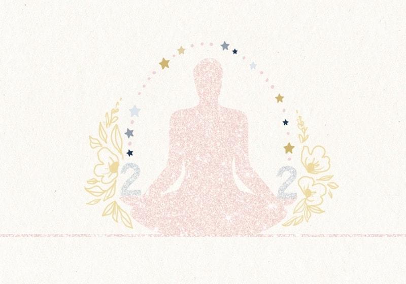 angel number 222 meditation