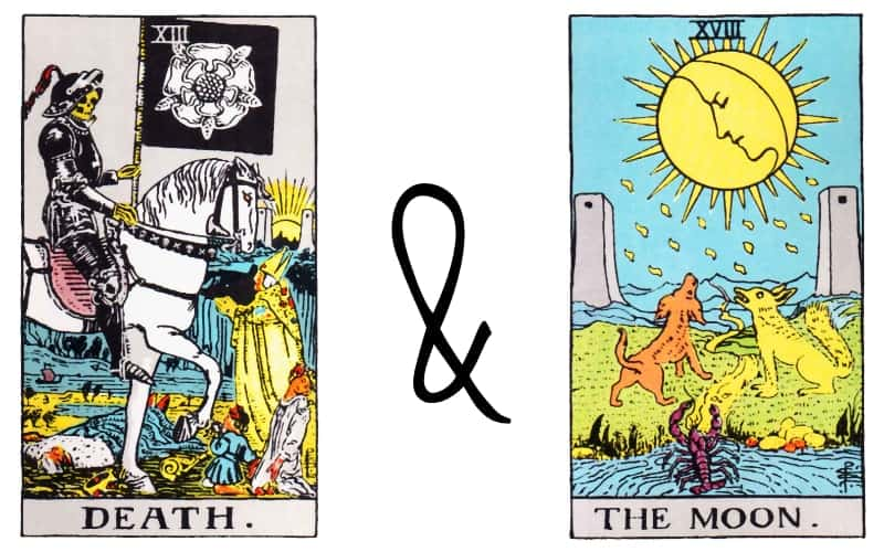 death and the moon tarot combination