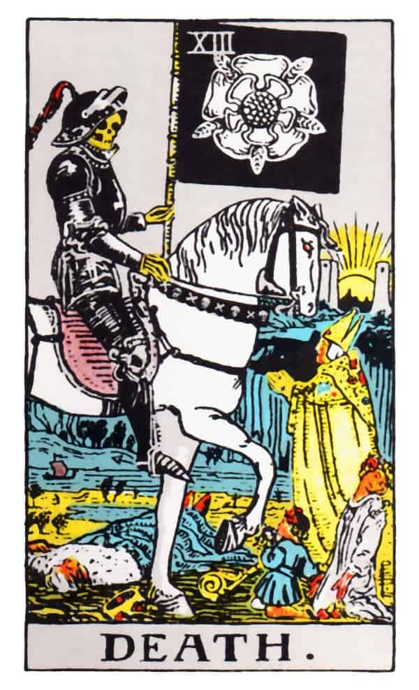 death tarot card image