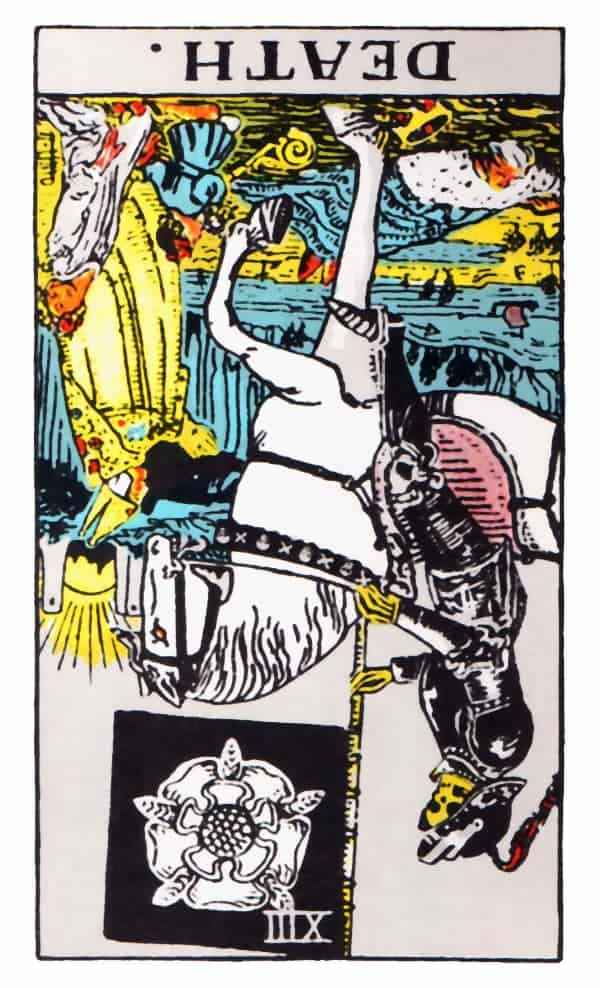 death tarot card reversed