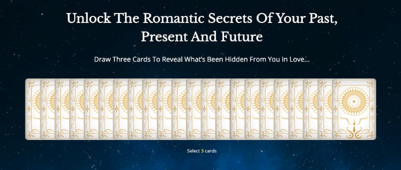free tarot love reading online