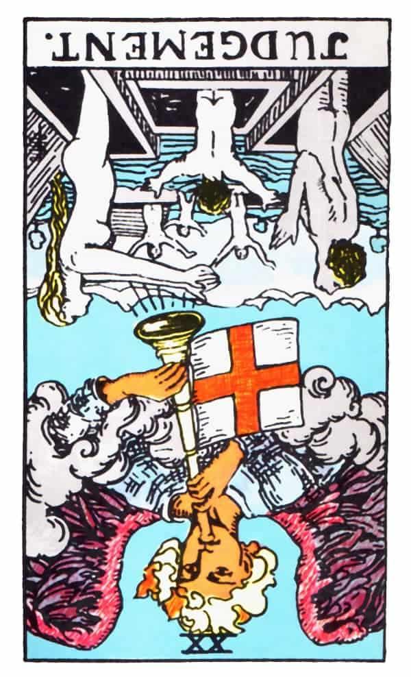 judgement reversed tarot card meaning