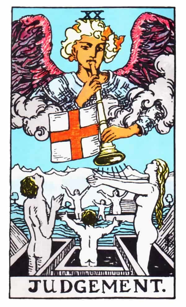 judgement tarot card design