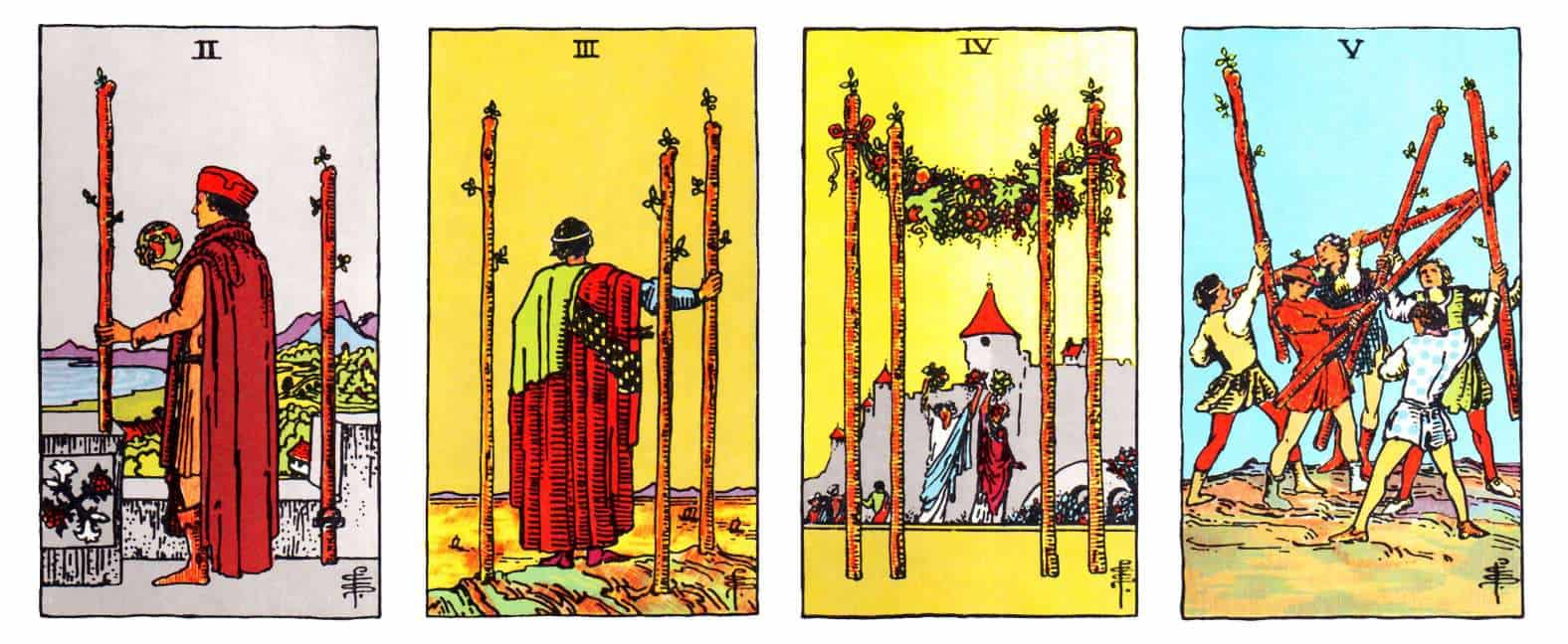 minor arcana suits of wands
