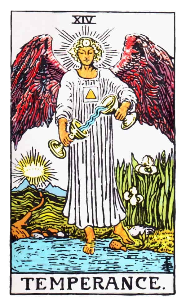 temperance card in tarot