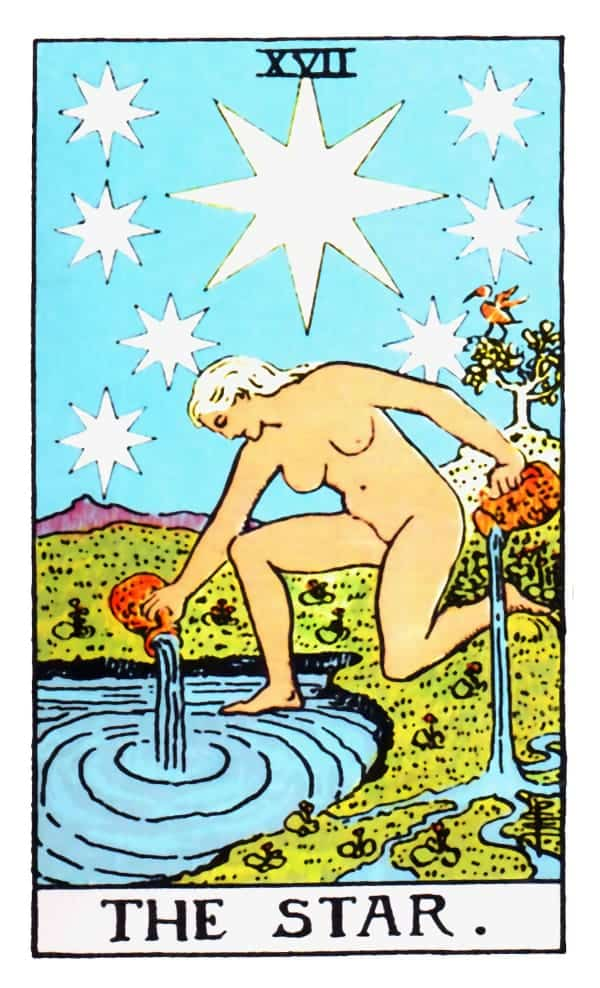 the star card in tarot