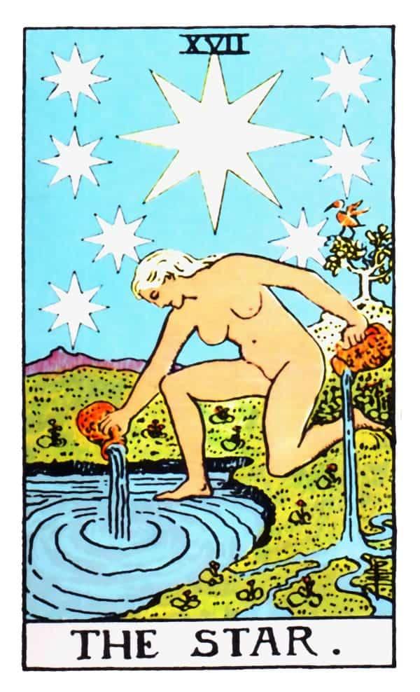 the star card in tarot