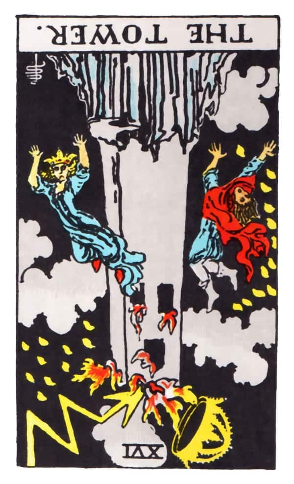 the tower tarot card reversed meaning