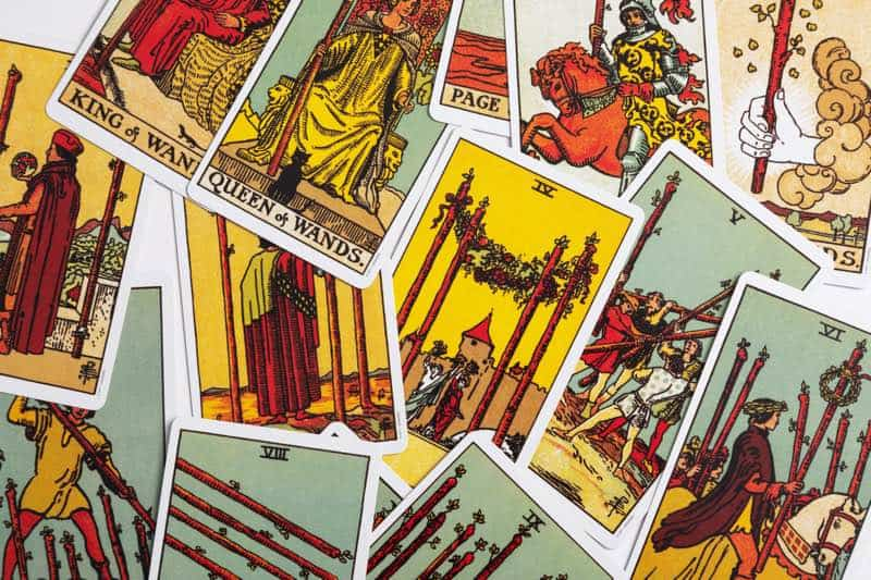 three-card tarot spread