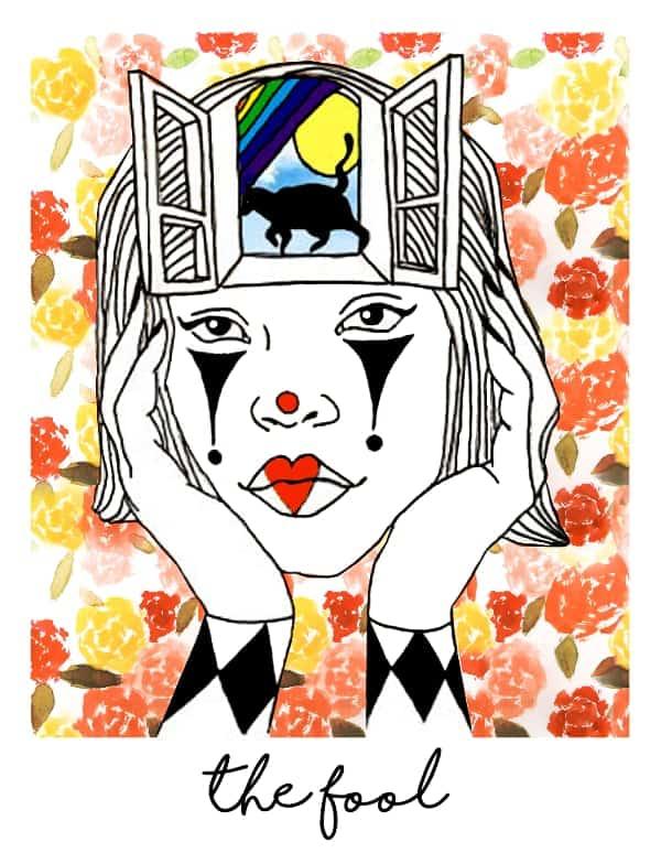 the fool tarot card spark joy deck
