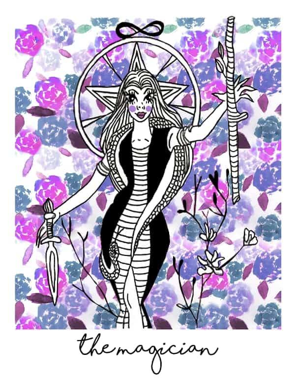 the magician tarot card spark joy deck