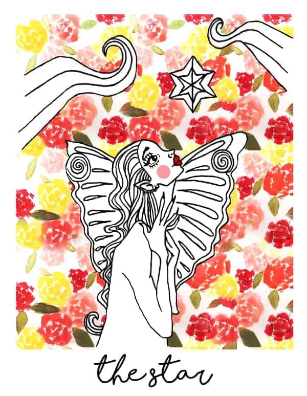 the star tarot card spark joy deck