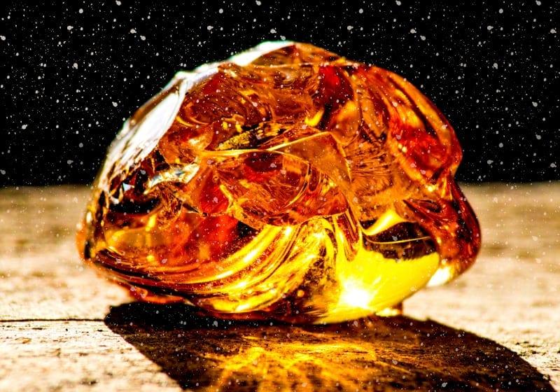 amber archangel uriel crystal