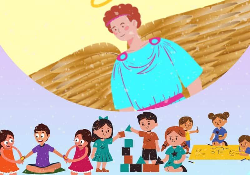 patron angel of children archangel metatron 1