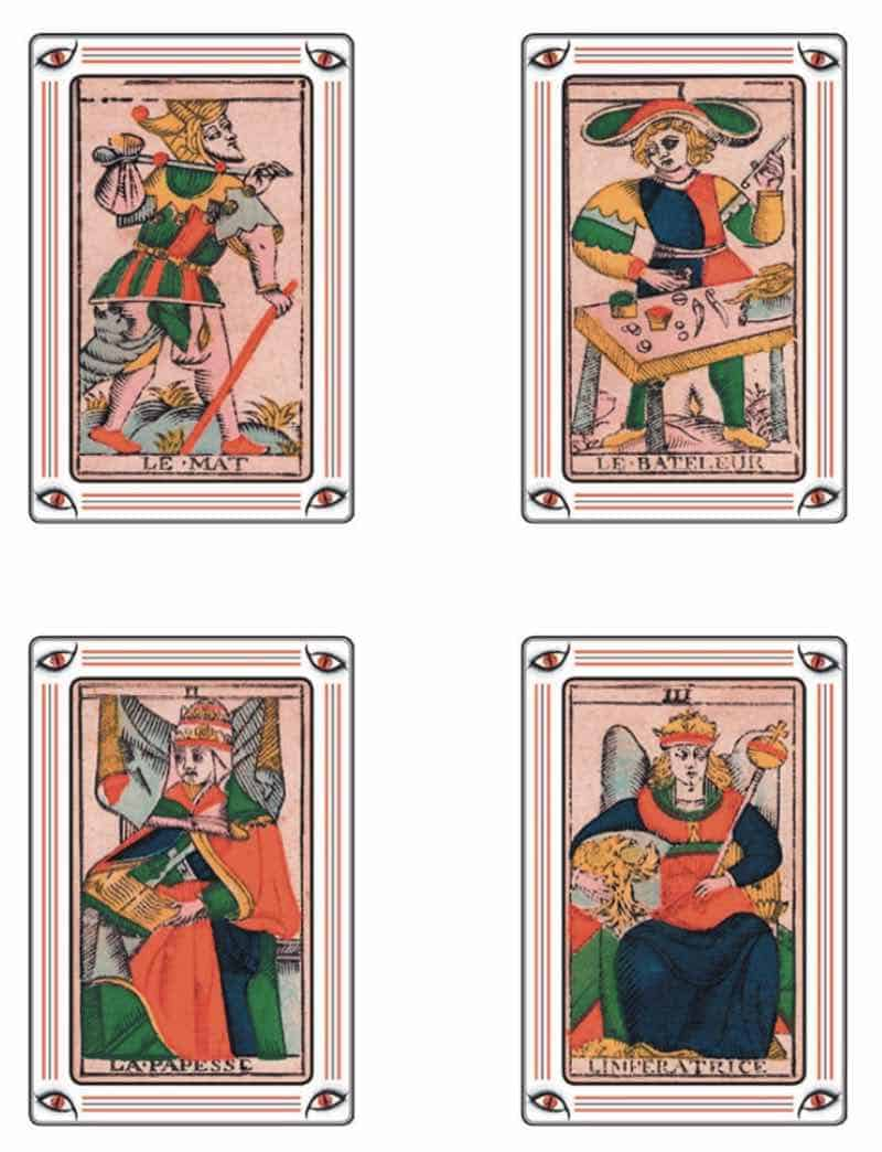 printable tarot de marseille cards