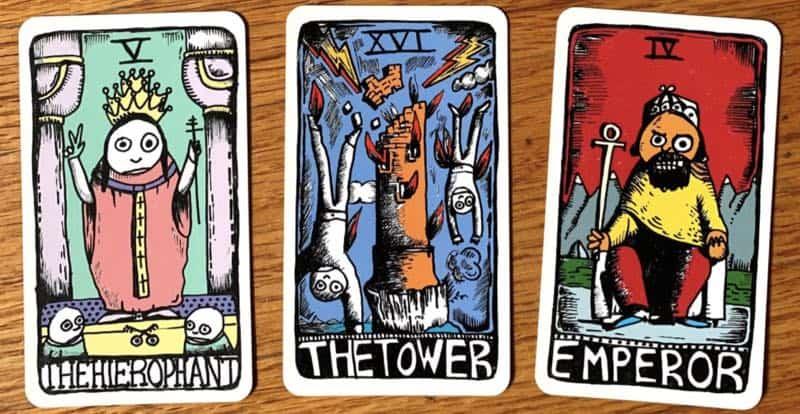 printable tarot deck