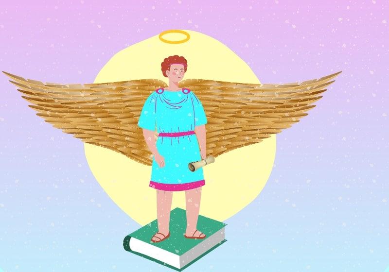 what does archangel metatron look like