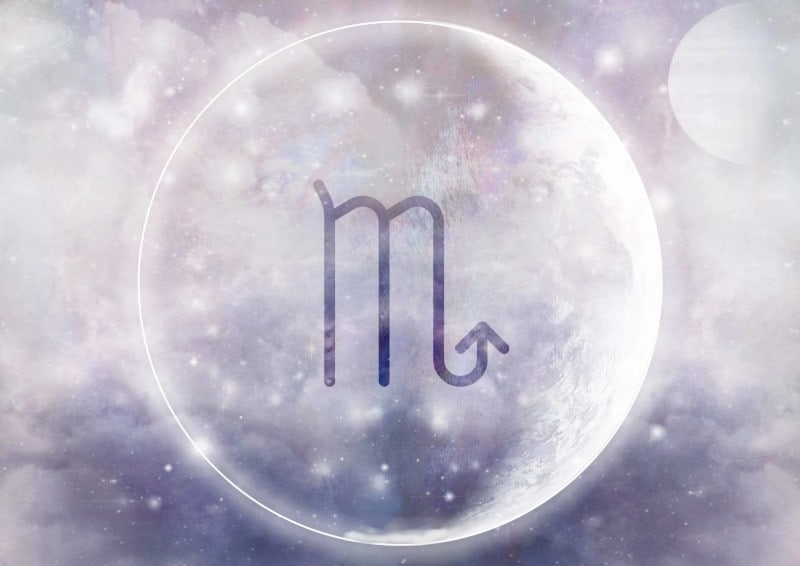 moon reading scorpio