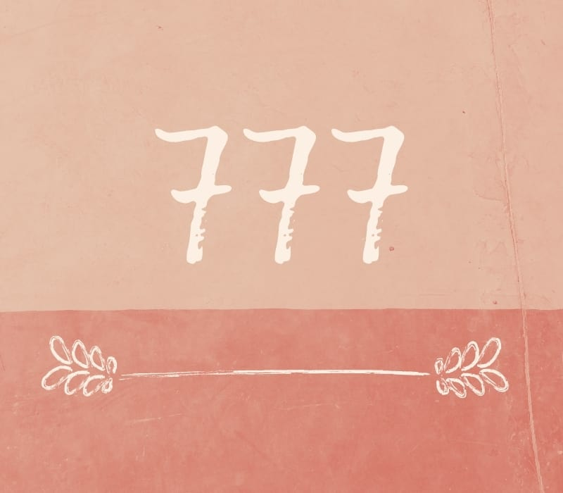 meaning angel number 777