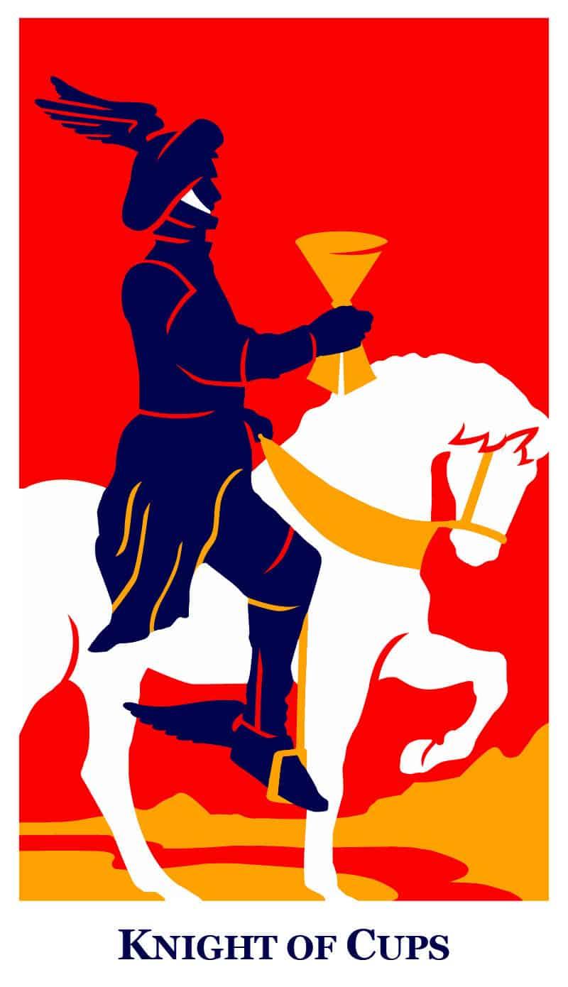 knight of cups modern way tarot deck