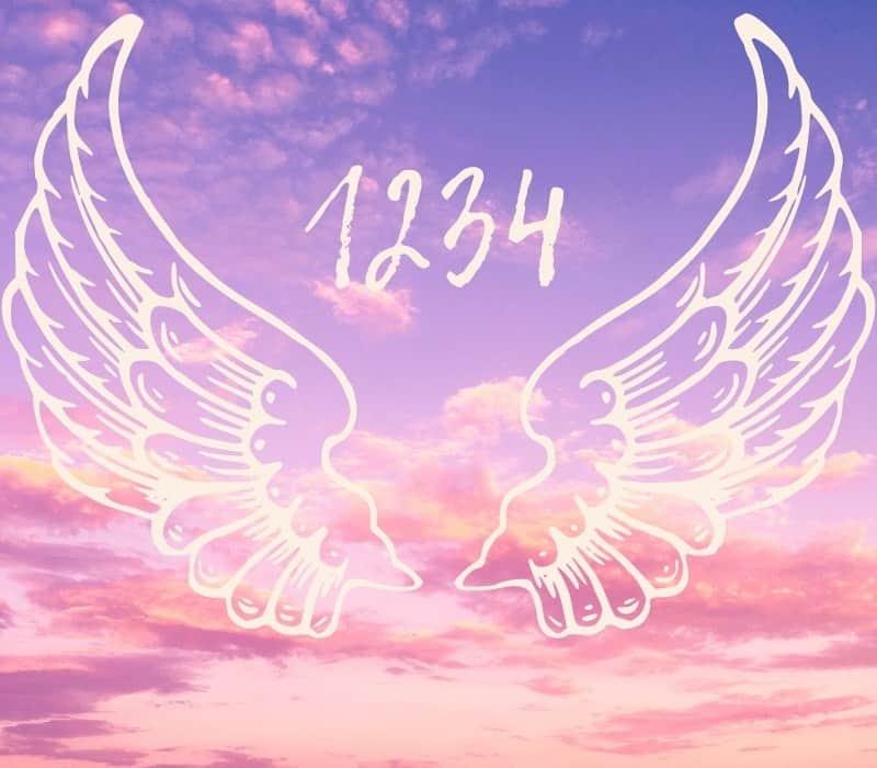 seeing angel number 1234