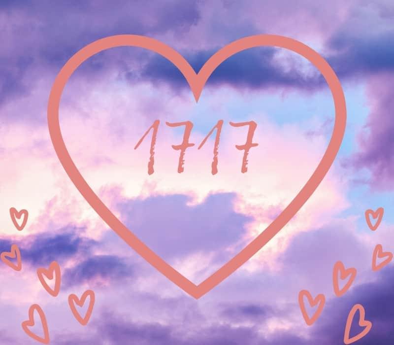 angel number 1717 love