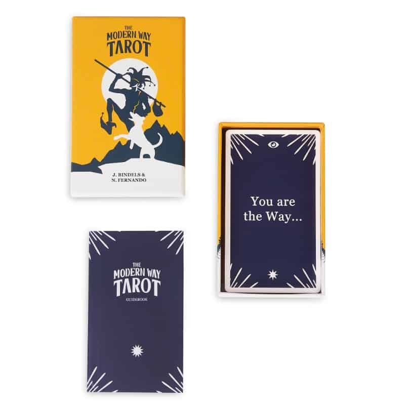 box modern way tarot set