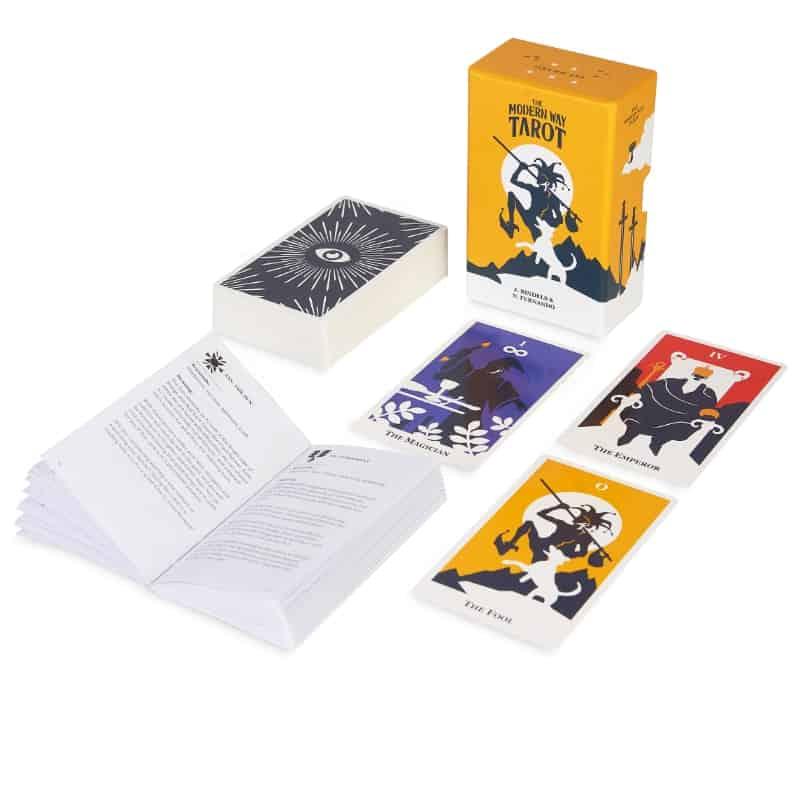modern way tarot card deck set