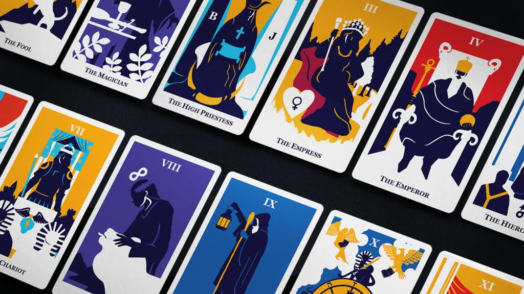 amazon modern way tarot card deck