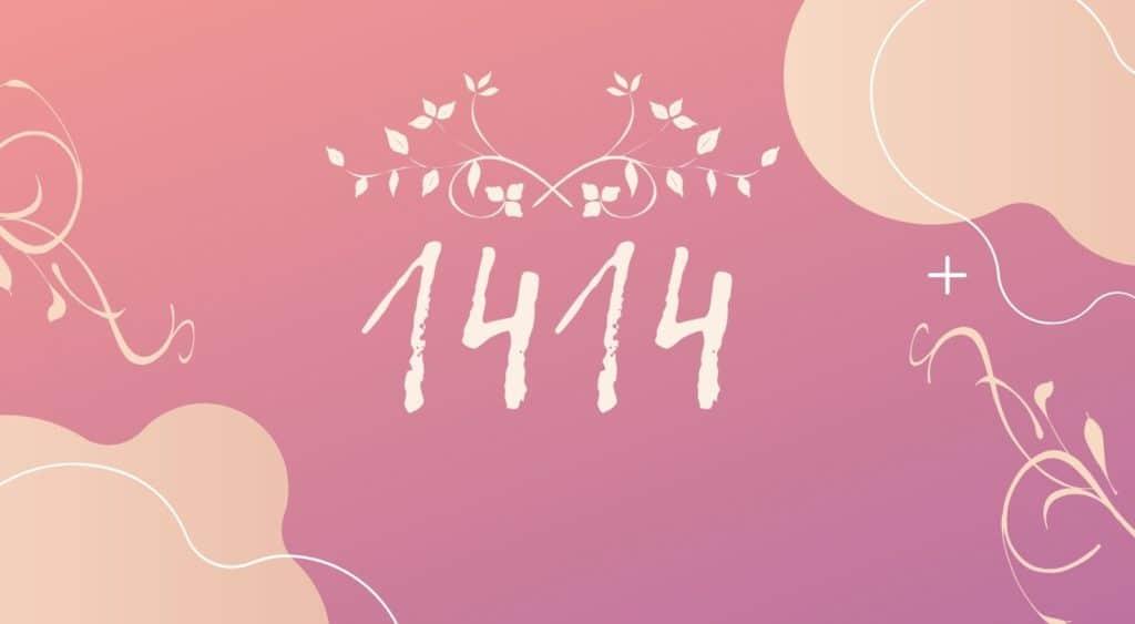 angel number 1414 header